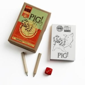222062 Pig Little Box Game