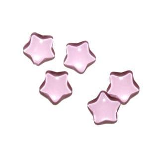 Pink stars Decorative Glass Shapes
