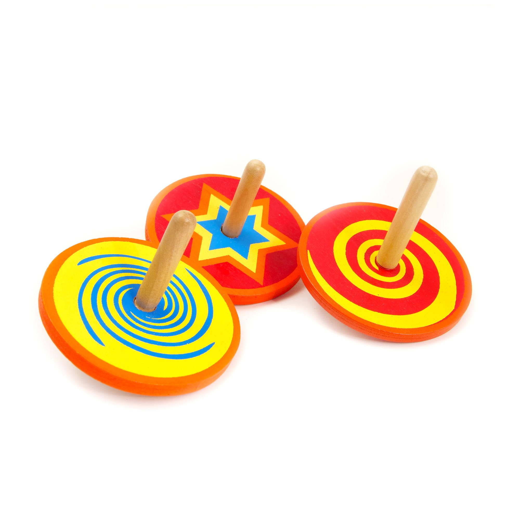 Mini Wooden Spinning Top | House of Marbles US